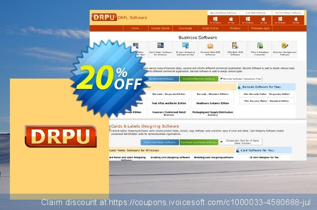 DRPU Bulk SMS Software Professional - 50 User License 美妙的 产品销售 软件截图