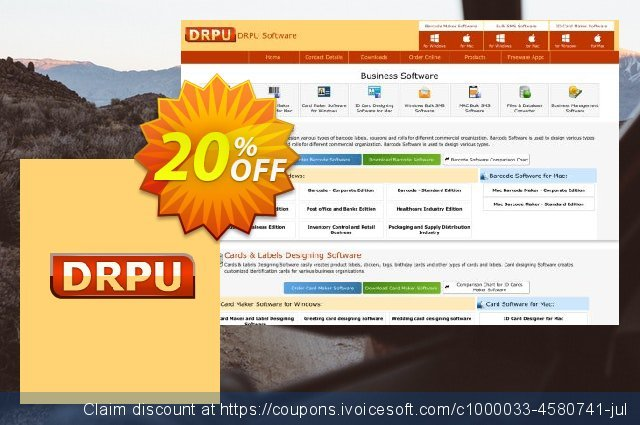 DRPU Bulk SMS Software (Multi-Device Edition) - 100 User License discount 20% OFF, 2021 Easter day offering sales
