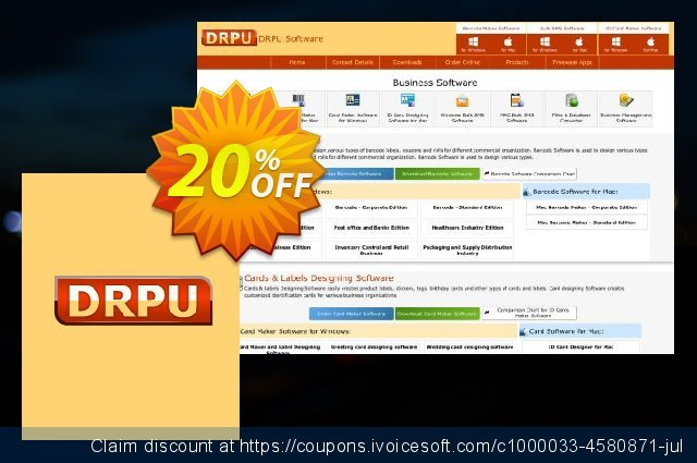DRPU Bulk SMS Software for Android Mobile Phone - 200 User Reseller License discount 20% OFF, 2020 Happy New Year discount