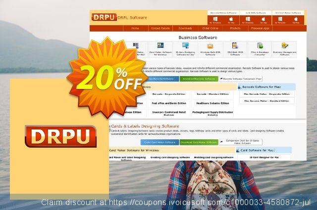 DRPU Bulk SMS Software for Android Mobile Phone - 500 User Reseller License discount 20% OFF, 2020 Working Day promo