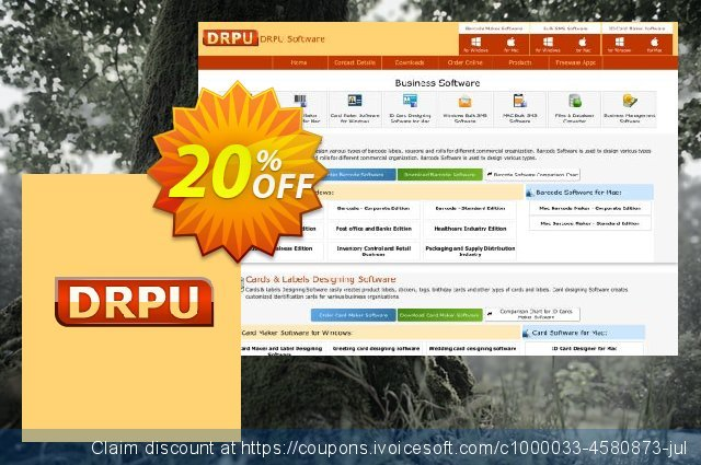 DRPU Bulk SMS Software for BlackBerry Mobile Phone - 25 User License discount 20% OFF, 2021 Easter day promo