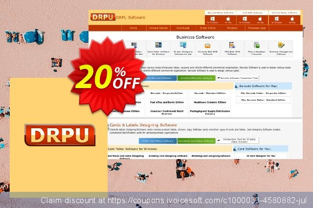 DRPU Bulk SMS Software for BlackBerry Mobile Phone - 200 User Reseller License discount 20% OFF, 2020 New Year's Day offering sales