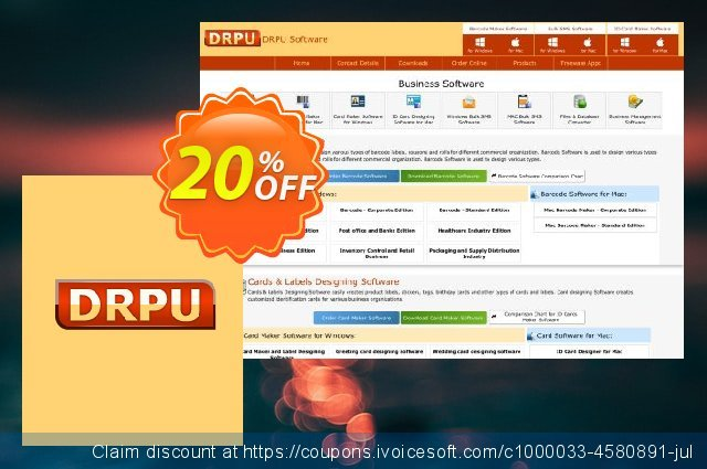 DRPU Mac Bulk SMS Software for GSM Mobile Phone - 25 User Reseller License 特殊 产品销售 软件截图