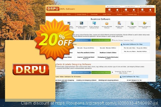 DRPU Mac Bulk SMS Software for Android Mobile Phone - 50 User License discount 20% OFF, 2021 Easter day offering sales