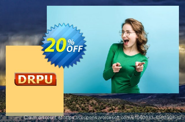 DRPU Mac Bulk SMS Software - Multi USB Modem - 50 User License discount 20% OFF, 2021 April Fools' Day offering sales