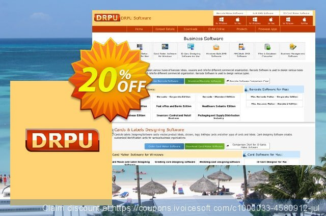 DRPU Mac Bulk SMS Software - Multi USB Modem - unrestricted version discount 20% OFF, 2021 April Fools' Day offering sales