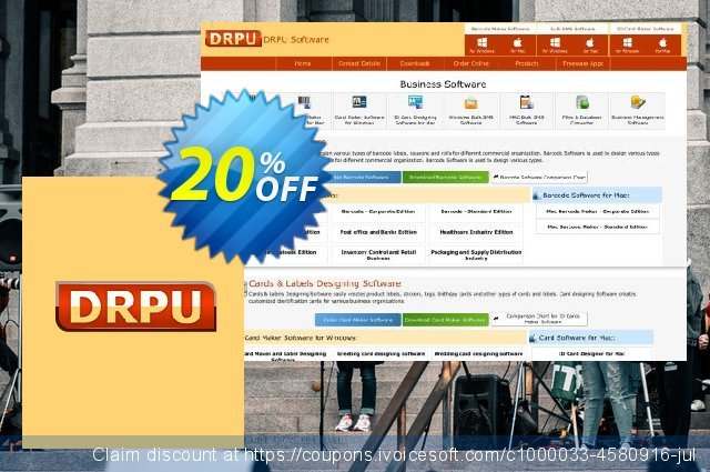 DRPU Mac Bulk SMS Software - Multi USB Modem - 200 User Reseller License discount 20% OFF, 2020 Working Day offering sales