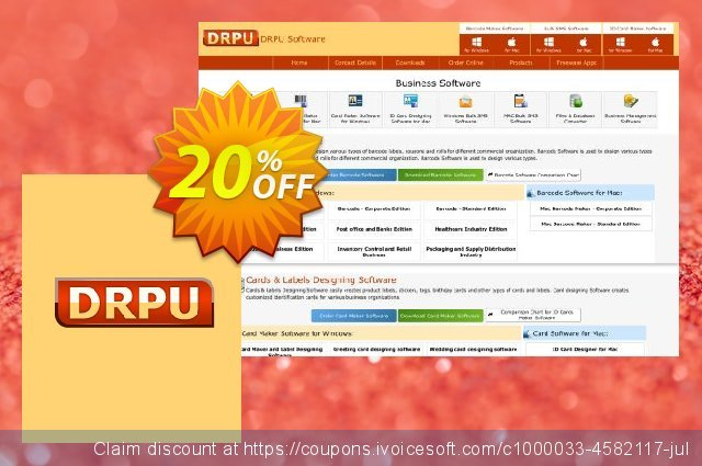 Birthday Cards Designing Software - 5 PC License discount 20% OFF, 2019 University Student deals discount