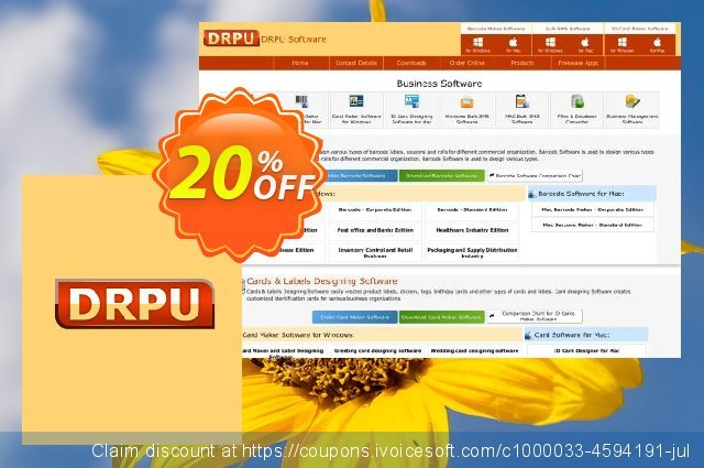 DRPU Wedding Card Designer discount 20% OFF, 2019 University Student offer offering sales