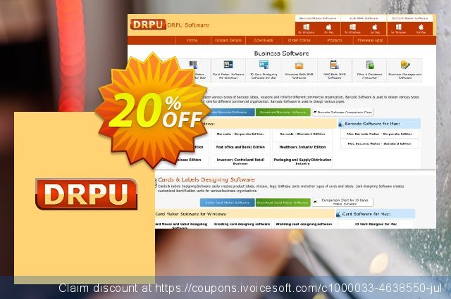 DRPU USB Protection Desktop Edition - 10PC Protection discount 20% OFF, 2020 Summer discount