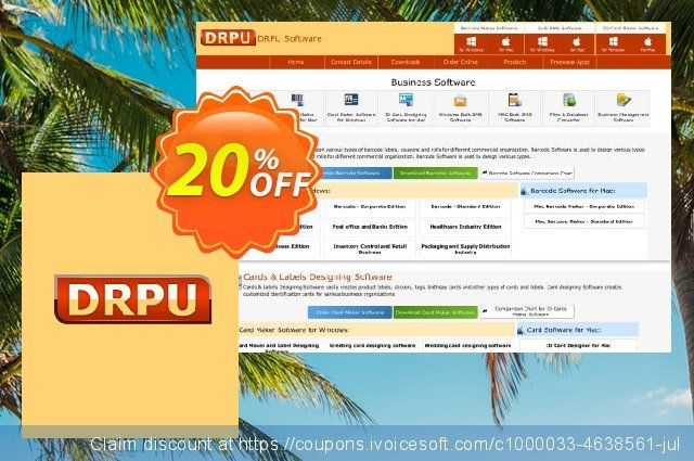 DRPU USB Protection Network License - 1 Server and 50 Clients Protection discount 20% OFF, 2021 Easter day offering sales