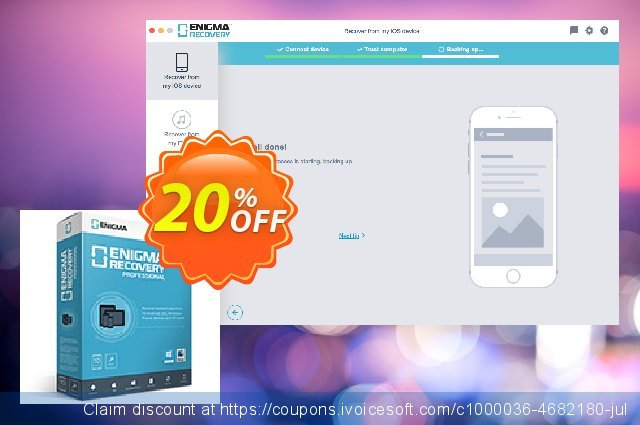 Enigma Recovery Pro (Lifetime) discount 20% OFF, 2020 Happy New Year offering sales