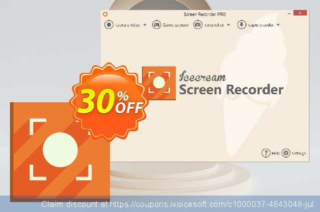 Icecream Screen Recorder PRO discount 20% OFF, 2020 Valentines Day offering sales
