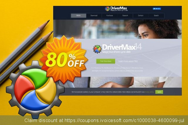 DriverMax 11 (2 years) discount 80% OFF, 2020 Back to School coupons offering sales