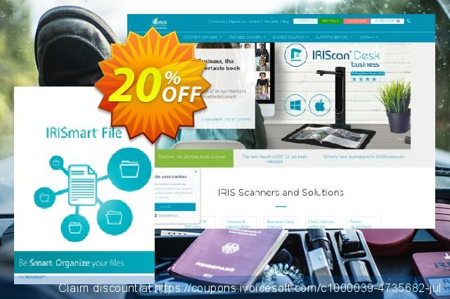 IRISmart File discount 10% OFF, 2020 Back-to-School promotions offering sales
