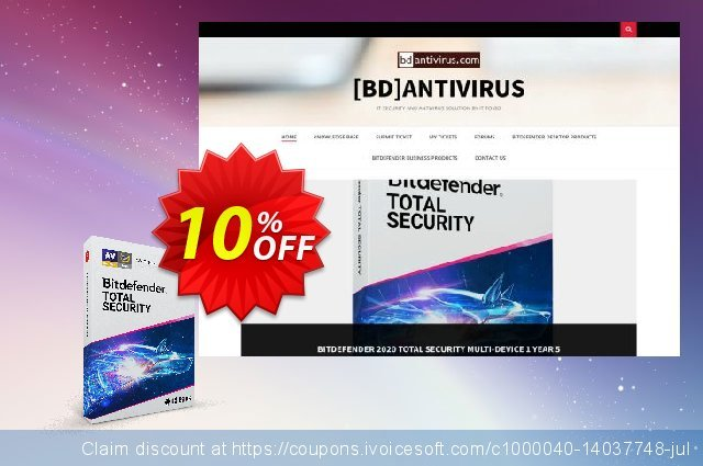 Bitdefender Total Security 2020 Multi-Device (3 years - 3 device) 最 产品折扣 软件截图
