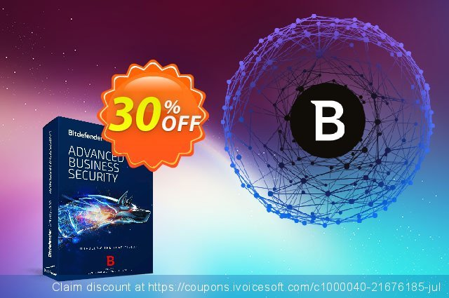 Bitdefender GravityZone Advanced Business Security 了不起的 销售折让 软件截图