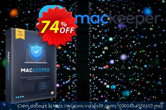 MacKeeper Premium - 3 Mac discount 10% OFF, 2020 New Year offering sales