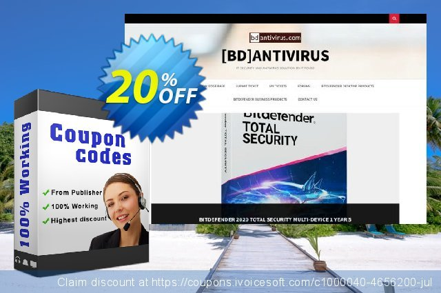 BullGuard 2020 Internet Security discount 20% OFF, 2020 College Student deals offering sales