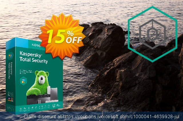 Kaspersky Total Security discount 10% OFF, 2019 Thanksgiving offering sales