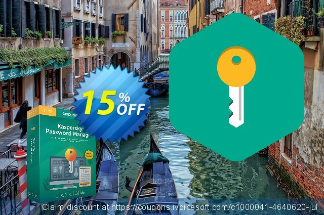 Kaspersky Password Manager discount 10% OFF, 2019 Back to School coupons offering sales