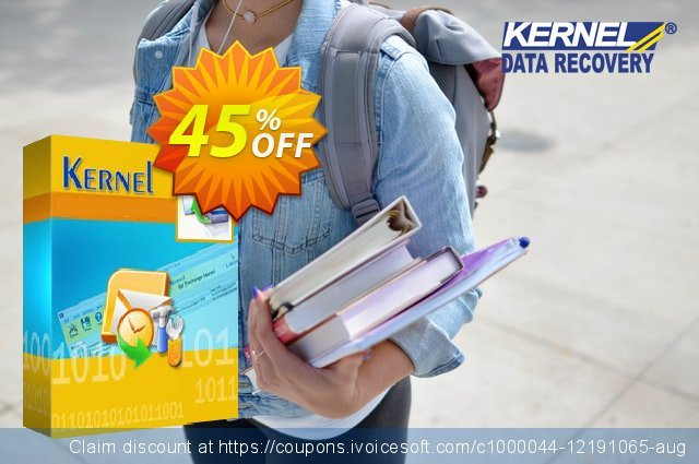 Kernel for Outlook PST - Technician License ( Special Offer Price ) discount 25% OFF, 2020 Halloween offering sales