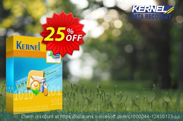 Kernel Bundle: Outlook PST Repair + OST to PST Converter + Exchange Server (Corporate) discount 25% OFF, 2021 World Sexual Health Day offering discount. Kernel Combo Offer ( OST Conversion + PST Recovery + EDB Mailbox Export Best offer code 2021