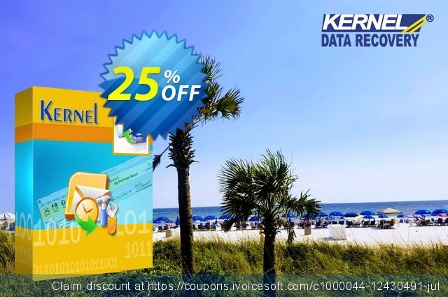 Kernel Bundle: Outlook PST Repair + OST to PST Converter + Exchange Server (Technician) discount 25% OFF, 2021 National Coffee Day promotions. Kernel Combo Offer ( OST Conversion + PST Recovery + EDB Mailbox Export ) - Technician Awful discounts code 2021