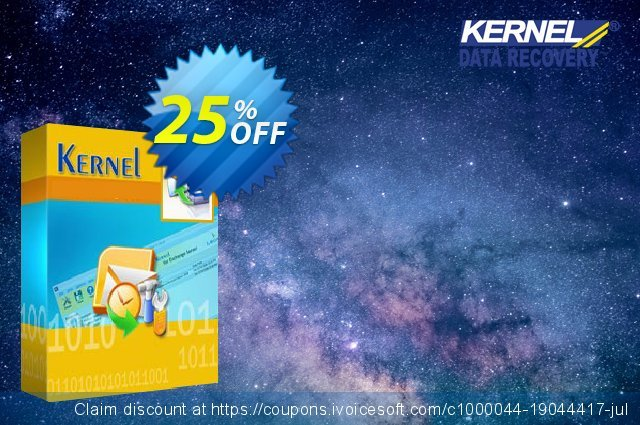 Kernel OLM to Office 365 Migrator - Home User License discount 25% OFF, 2020 Father's Day discount