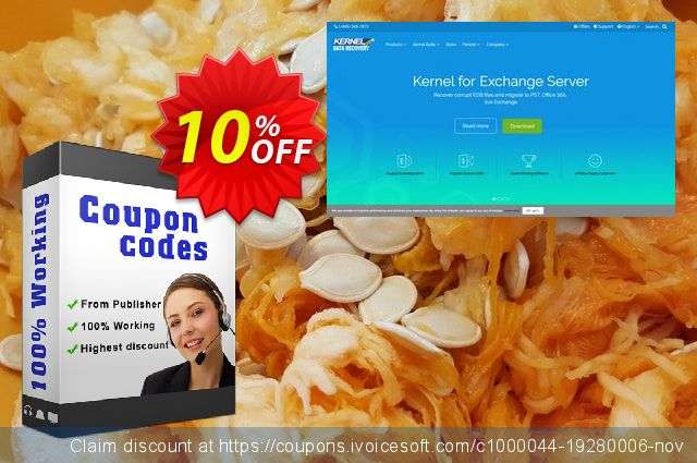 Kernel Migrator for Exchange ( 271 Mailboxes ) + 1 Year SAM 气势磅礴的 产品销售 软件截图