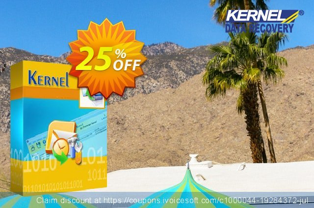 Kernel Exchange Suite (Technician License) + Kernel Outlook Suite (Technician License ) discount 25% OFF, 2020 Back-to-School promotions offering sales