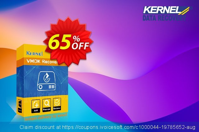 Kernel for VMDK  - Home User License discount 25% OFF, 2021 January offering sales