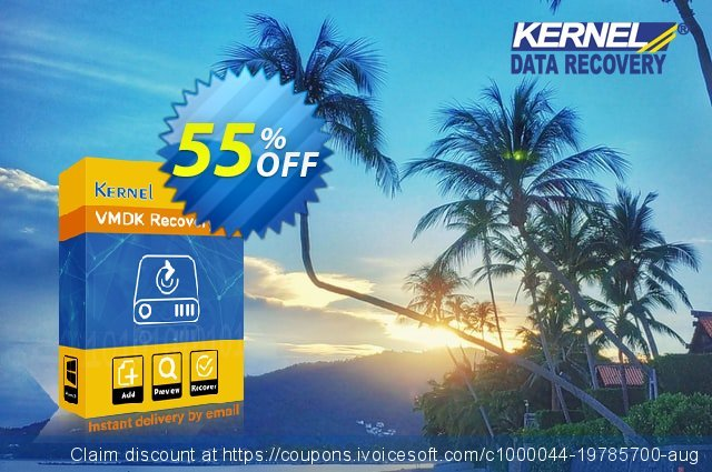 Kernel VMDK Recovery Technician License discount 55% OFF, 2021 Programmers' Day offering discount. 55% OFF Kernel VMDK Recovery Technician License, verified