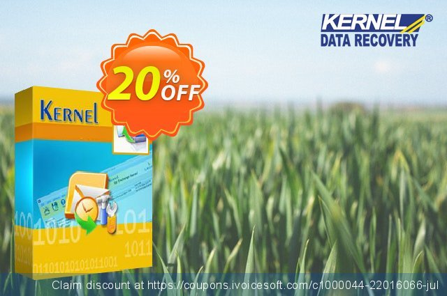Kernel Bundle ( KME Express Edition for 250 Mailboxes + Office 365 Backup and Restore + IMAP to Office 365 ) discount 20% OFF, 2021 National Savings Day promotions. Kernel Bundle ( KME Express Edition for 250 Mailboxes + Office 365 Backup and Restore + IMAP to Office 365 ) Super promo code 2021