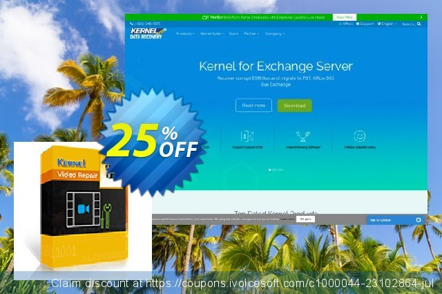 Kernel Video Repair (Corporate) discount 25% OFF, 2020 July 4th offering sales