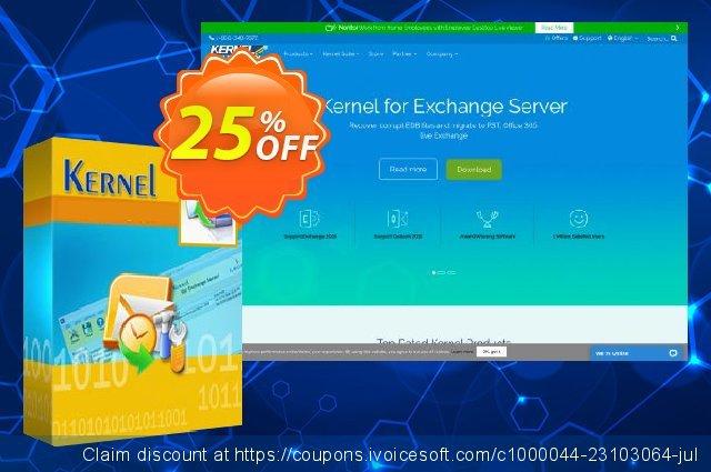 Kernel Merge PST – Corporate License 令人恐惧的 销售折让 软件截图