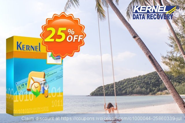 Kernel Office 365 Migration for ( 251 to 500 Mailboxes ) discount 25% OFF, 2020 July 4th promotions