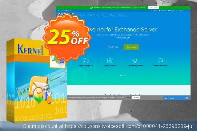 Kernel Migrator for SharePoint – 5 Users ( 1 Year License ) discount 25% OFF, 2020 Father's Day offering deals