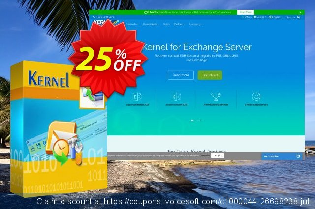 Kernel Migrator for SharePoint – Unlimited Users  ( 1 Year License ) discount 25% OFF, 2020 Summer offering sales