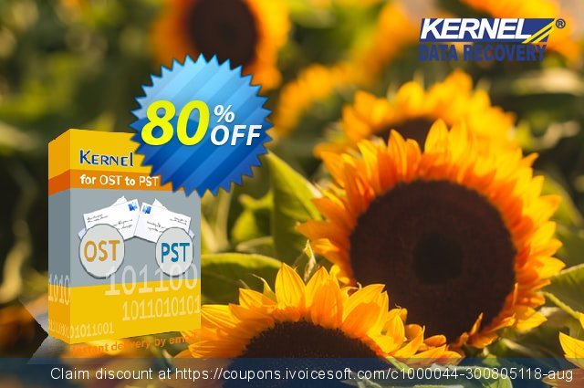Kernel for OST to PST (Corporate License upgrade) 神奇的 交易 软件截图