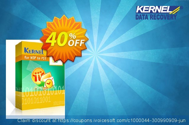 Kernel for Lotus Notes to Outlook (100 NSF Files) discount 40% OFF, 2021 Native American Day offering sales. 30% OFF Kernel for Lotus Notes to Outlook (100 NSF Files), verified