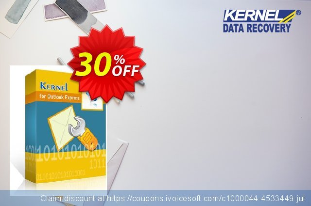 Kernel for Outlook Express Recovery discount 30% OFF, 2020 Halloween promo