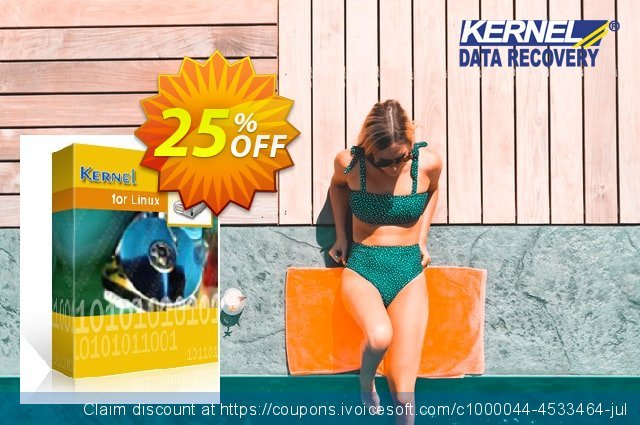 Kernel for Linux Data Recovery discount 25% OFF, 2020 Halloween offering discount
