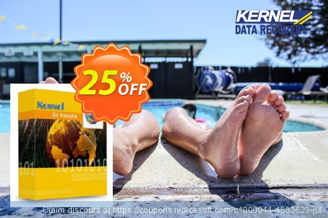 Kernel for Paradox Database Repair discount 25% OFF, 2021 Happy New Year offer