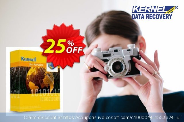 Kernel for Paradox Database Repair (Corporate) discount 25% OFF, 2021 New Year's Weekend discount