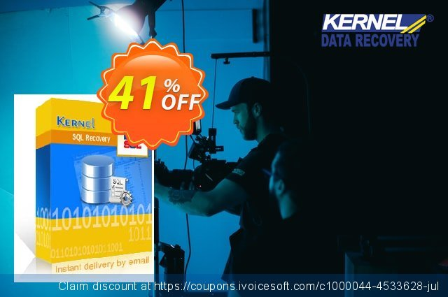 Kernel for SQL Recovery (Corporate License) 壮丽的 产品交易 软件截图