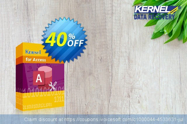 Kernel for Access Database Repair (Corporate) discount 25% OFF, 2020 Halloween sales
