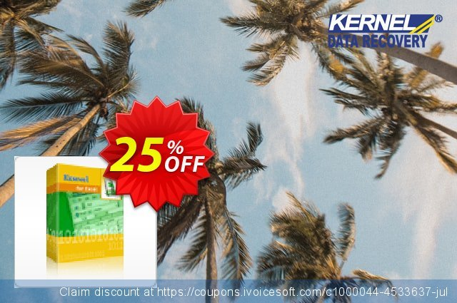 Kernel for Excel Repair discount 25% OFF, 2021 Happy New Year offering sales