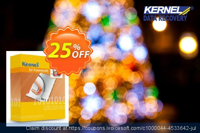 Kernel for PowerPoint (Technician) discount 25% OFF, 2021 Happy New Year offer