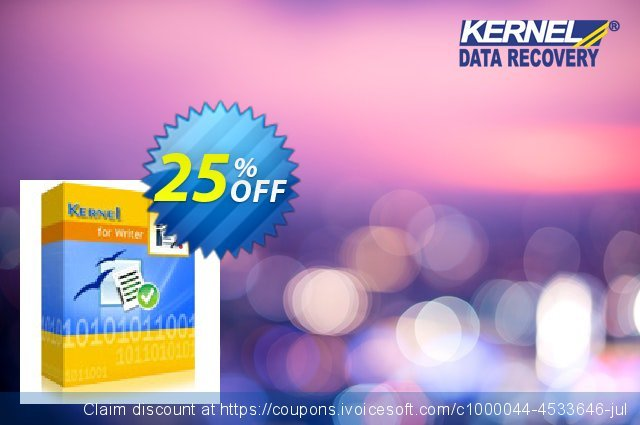 Kernel for Writer - Home License discount 25% OFF, 2021 Spring offering deals